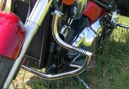 Kawasaki VN2000 Vulcan padací rám predný Custom
