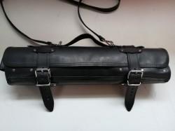 PÚZDRO NA NOŽE Čierna koža 1,6-1,8mm