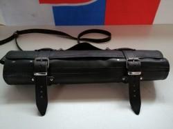 PÚZDRO NA NOŽE Čierna koža 2,4-2,7mm