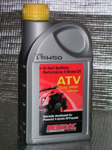 MOTOROVÝ OLEJ DENICOL ATV QUAD 4 T 15W50 - 1L
