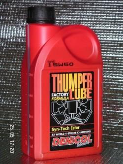 MOTOROVÝ OLEJ DENICOL THUMPER LUBE 15W50 - 1L