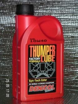 MOTOROVÝ OLEJ DENICOL THUMPER LUBE 10W40 - 1L