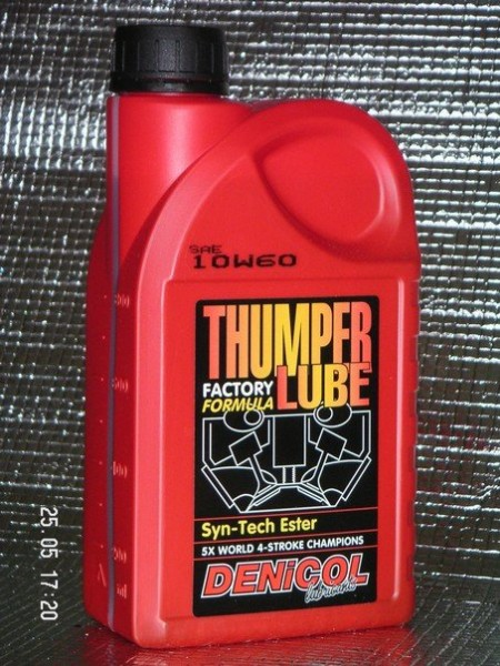 MOTOROVÝ OLEJ DENICOL THUMPER LUBE 10W60 - 1L