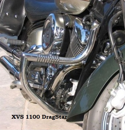 Yamaha XVS 1100 DragStar Padací rám Custom