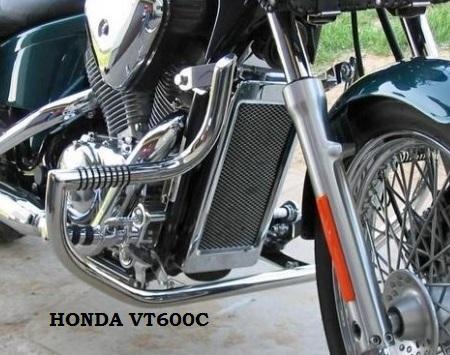 HONDA VT600C padací rám predný Custom